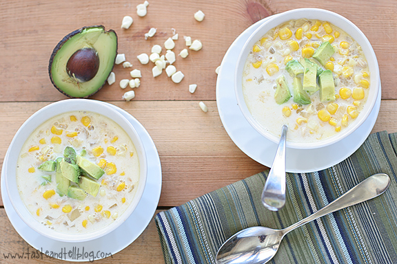 Crab and Corn Soup | www.tasteandtellblog.com