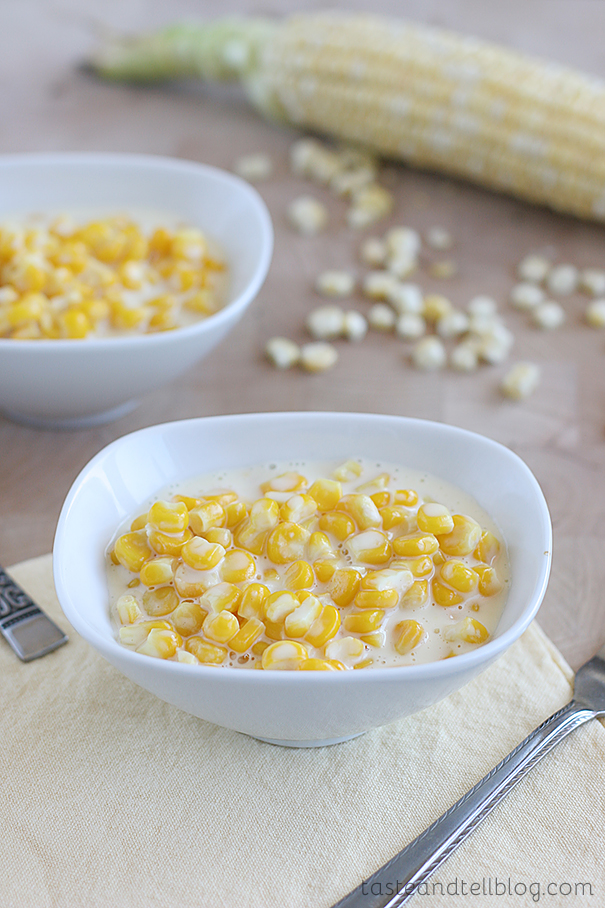 Creamed Corn | Taste and Tell