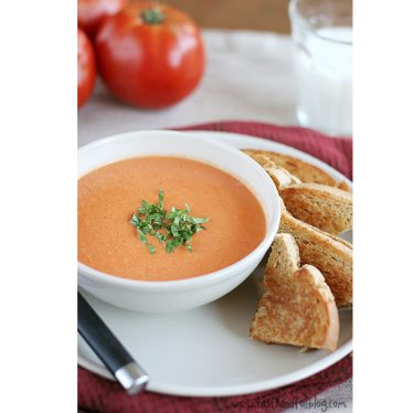 Creamy Tomato Soup | www.tasteandtellblog.com