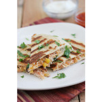 Grilled Chicken Quesadilla | www.tasteandtellblog.com