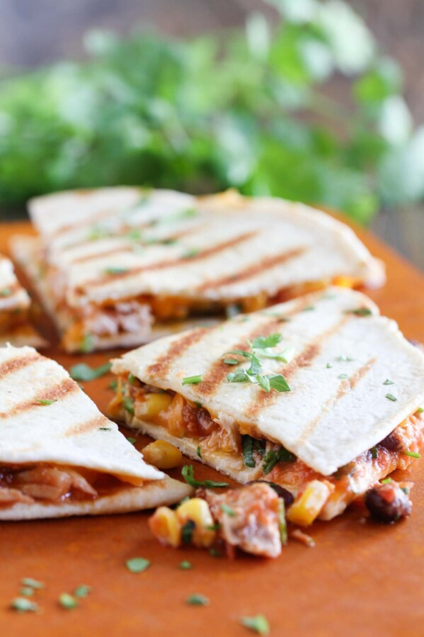 How to make Grilled Chicken Quesadillas