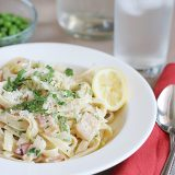 Lemon Scented Carbonara on Taste and Tell