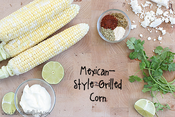 Mexican Style Grilled Corn | www.tasteandtellblog.com