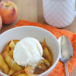 Cookbook of the Month Recipe – Scalloped Peaches