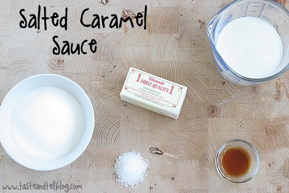 Sweet Corn Ice Cream with Salted Caramel Sauce   www.tasteandtellblog.com