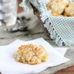 Cheddar Herb Drop Biscuits | www.tasteandtellblog.com