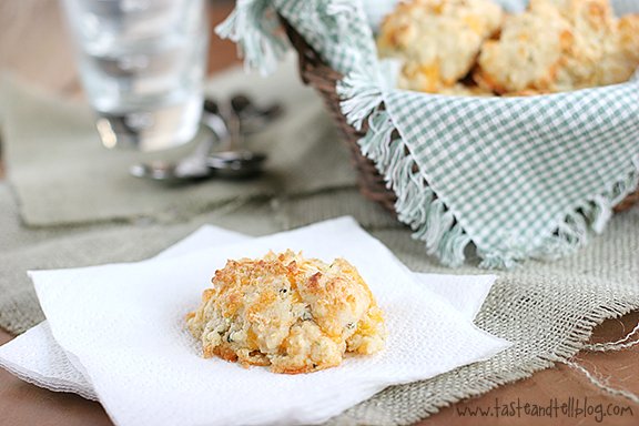 Cheddar Herb Drop Biscuits