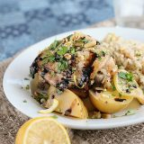 Honey Lemon Chicken with Potatoes on Taste and Tell