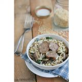 Orzo-with-Zucchini-Mushrooms-and-sausage-recipe