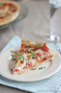 Tomato Tart | www.tasteandtellblog.com