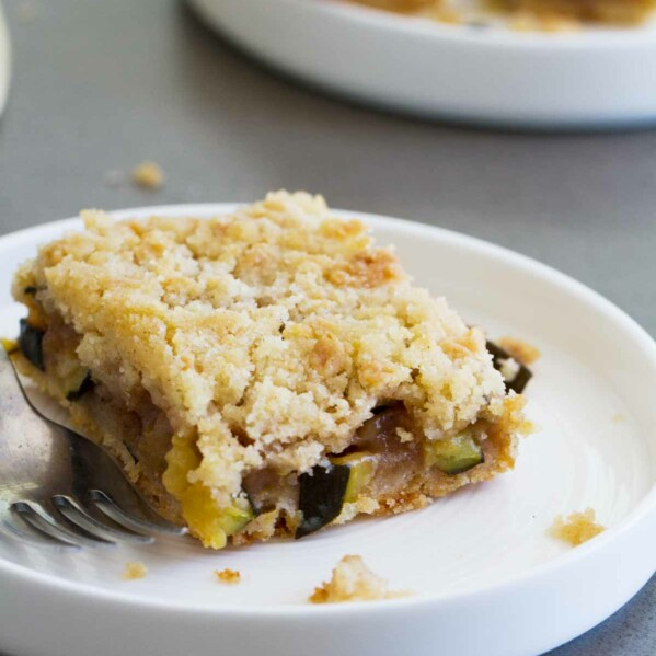 Do you have an overloaded zucchini plant? These Zucchini Cobbler Bars are an unconventional zucchini dessert, but you will fall head over heels in love with them!