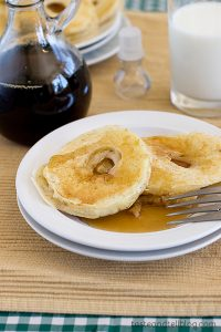 Apple Pancake Rings | www.tasteandtellblog.com