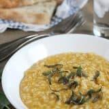 Butternut Squash Risotto | www.tasteandtellblog.com