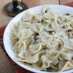 Farfalle with Pistachio Nuts