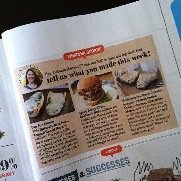 Rachael Ray Giveaway | www.tasteandtellblog.com