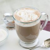 Salted Caramel Hot Chocolate | Taste and Tell