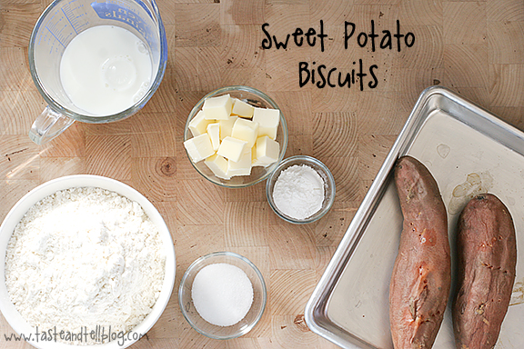 Sweet Potato Biscuits | www.tasteandtellblog.com