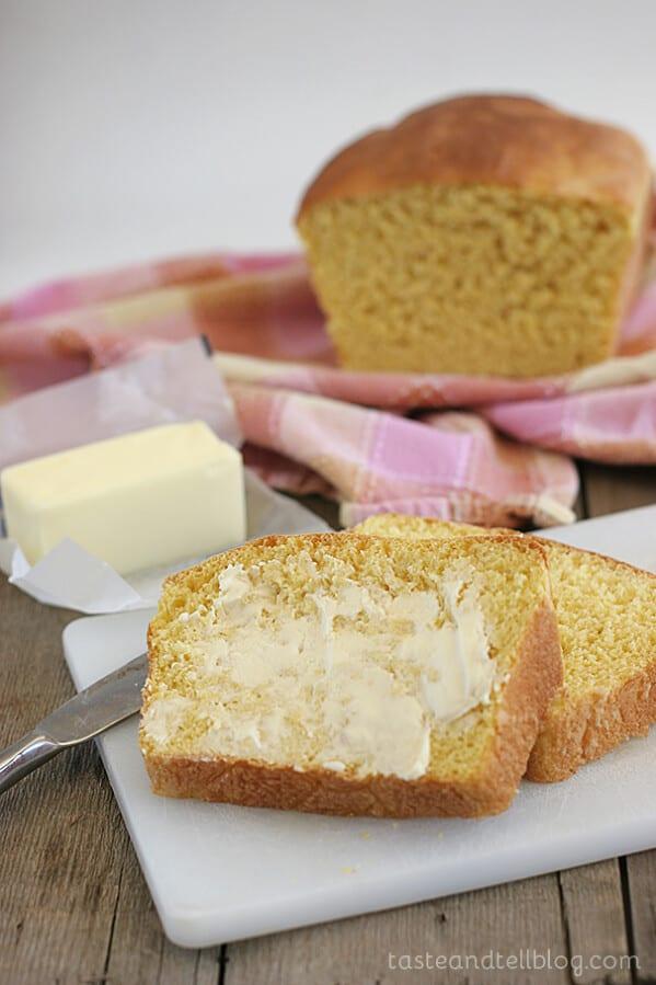 Butternut Squash Bread | www.tasteandtellblog.com