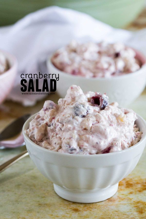 How to make Cranberry Salad