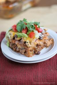 Enchilada Casserole | www.tasteandtellblog.com
