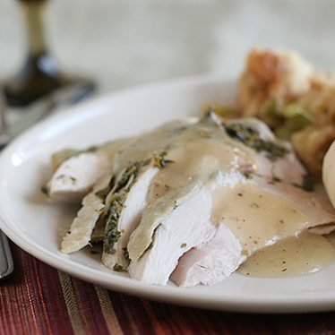 Herb Roasted Turkey Breast | www.tasteandtellblog.com