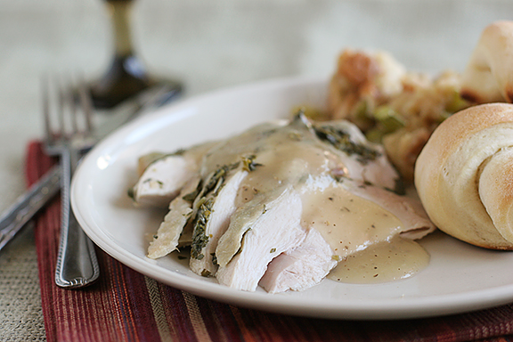 Herb-Roasted Turkey Breast {and a giveaway!}