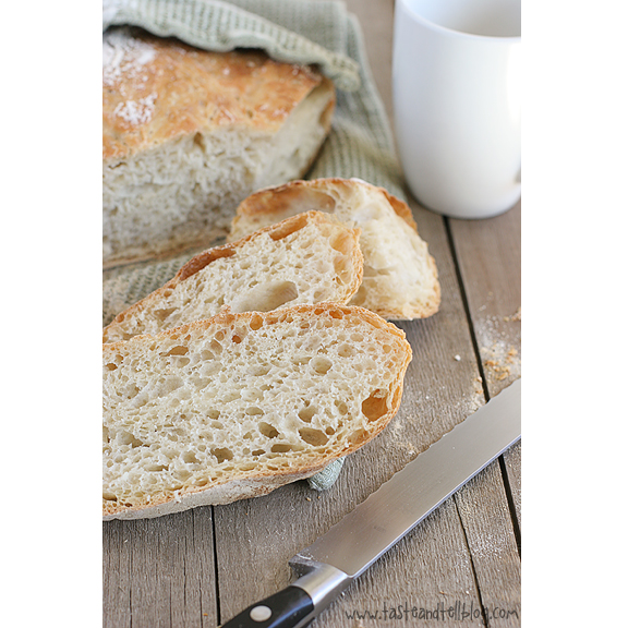 No-Knead Bread - Taste and Tell