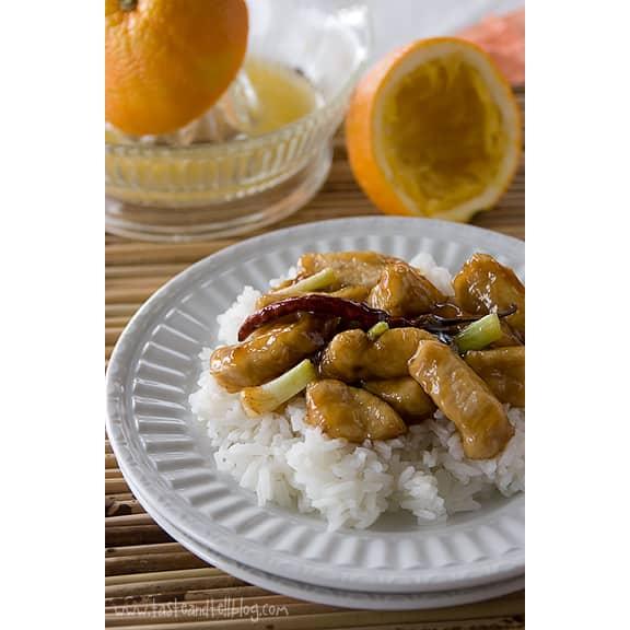 Orange Chicken   www.tasteandtellblog.com
