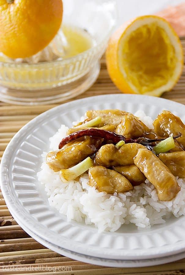 Cookbook of the Month Recipe – Orange Chicken