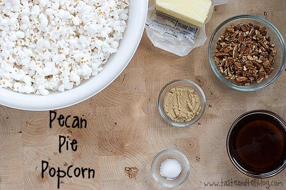 Pecan Pie Popcorn   Taste and Tell