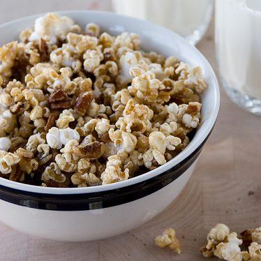 Pecan Pie Popcorn | Taste and Tell