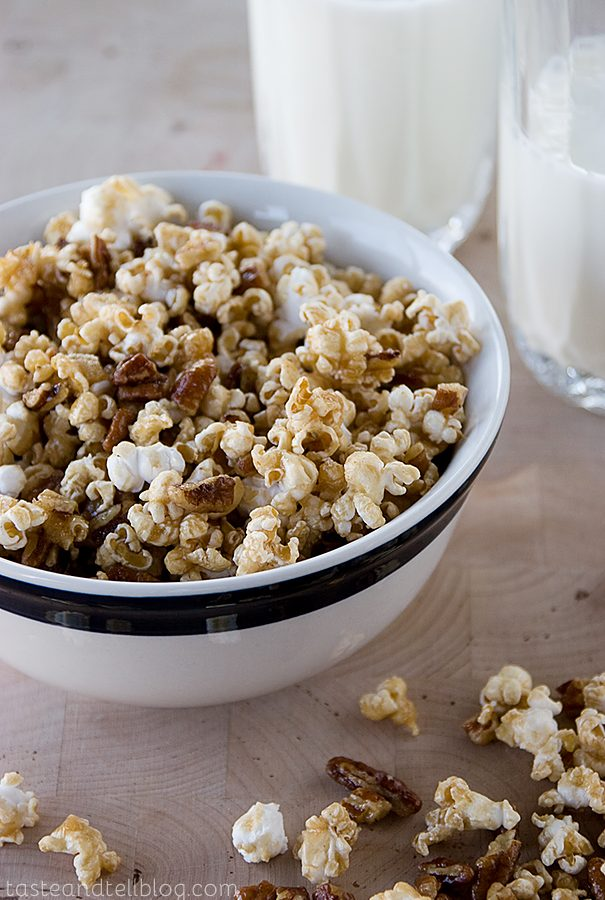 Saturdays with Rachael Ray – Pecan Pie Popcorn