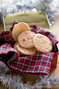Peppermint Snickerdoodles from www.tasteandtellblog.com