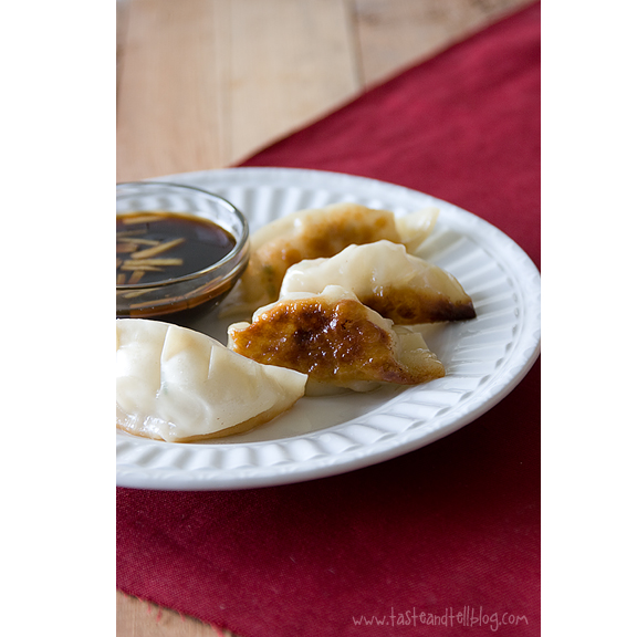 Pot Stickers {and November Cookbook of the Month Review}