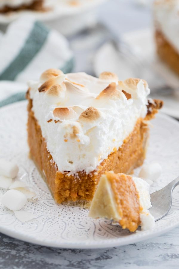 How to make Sweet Potato Pie with Marshmallow Coconut Meringue