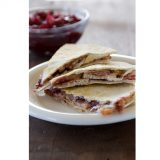 Sweet and Spicy Turkey Quesadillas | www.tasteandtellblog.com