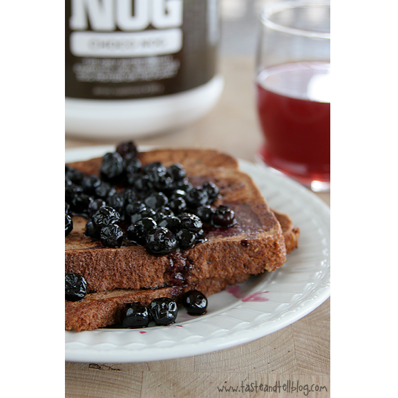 Chocolate Berry Protein French Toast