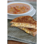 Deluxe Grilled Cheese with Bacon | www.tasteandtellblog.com