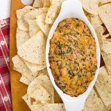 Dump and Stir Mexican Dip | www.tasteandtellblog.com