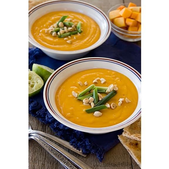 Thai Butternut Squash Soup | www.tasteandtellblog.com