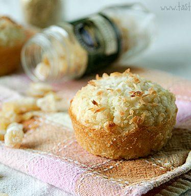 Coconut Ginger Muffins   www.tasteandtellblog.com