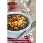 Fast and Delicious Black Bean Soup | www.tasteandtellblog.com