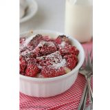 Red Velvet Week – Red Velvet Bread Pudding
