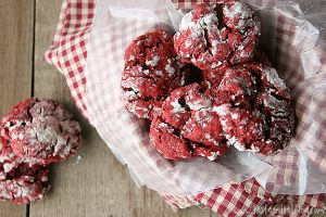 Red Velvet Gooey Butter Cookies | Taste and Tell
