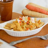 Root Vegetable Mac and Cheese | www.tasteandtellblog.com