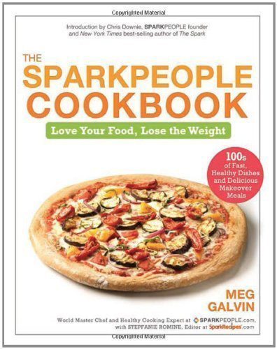 A review of The Sparkpeople Cookbook, plus a recipe for Broccoli and Spaghetti Squash with Lemon Pepper