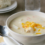 Cheesy Chicken Chowder | Taste and Tell