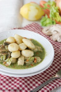 Italian Chicken and Dumplings on Taste and Tell