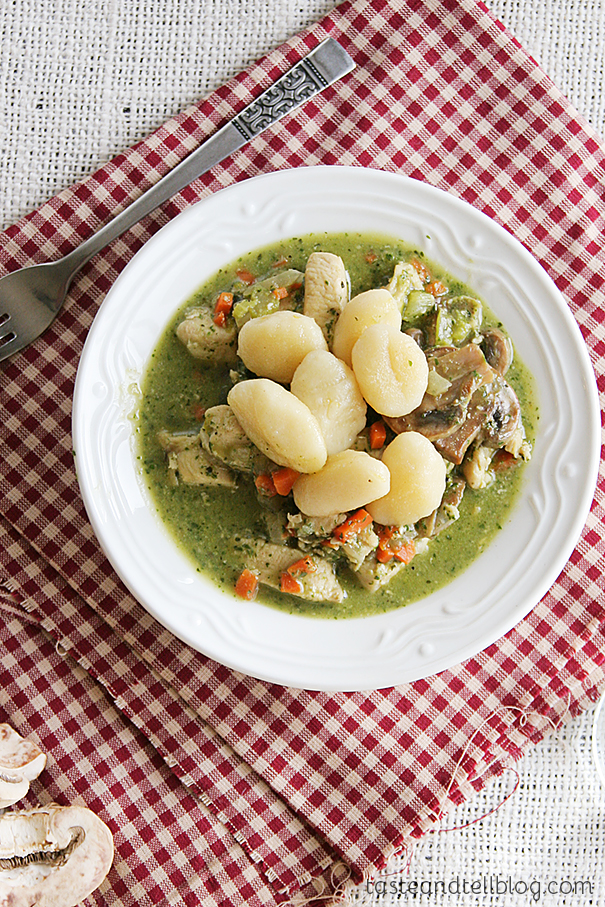 Italian Chicken and Dumplings recipe