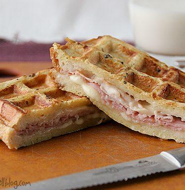 Monte Cristo Waffle Wiches | www.tasteandtellblog.com